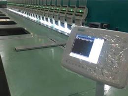 湖南电脑绣花机细节展示